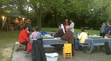 Das Grillfest am 05.08.2016 auf dem Grillplatz beim Alban